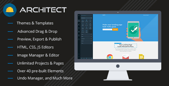 Architect v1.7 HTML and Site Builder