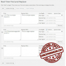 Real-Time Find and Replace PRO v3.8 Nulled