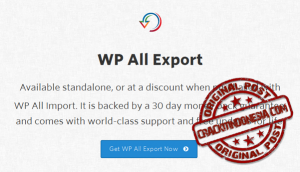 WP All Export PRO v1.4.3 + All Addons