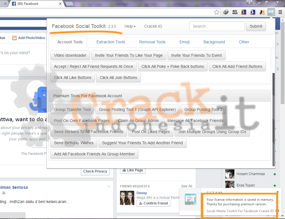 Facebook Social Toolkit Premium v.2.3.5 Cracked [FIXED]