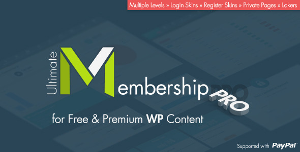Ultimate Membership Pro v4.1 Nulled