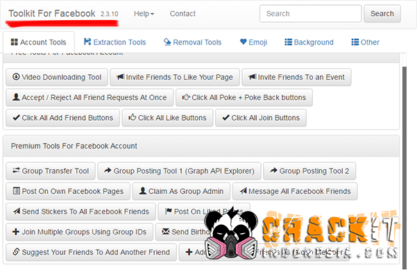 Facebook Social Toolkit Premium v 2 3 10 Cracked » Crackit