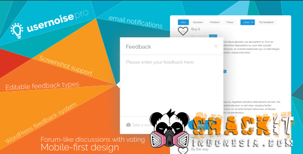 Usernoise Pro Modal Feedback & Contact form v5.0.1 Nulled