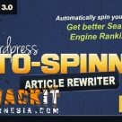 WordPress Auto Spinner v3.4.0 Nulled