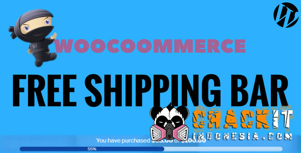 WooCommerce Free Shipping Bar v1.0.4
