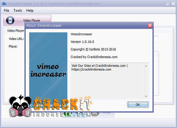 Vimeo Increaser v1.0.16.0 Cracked