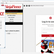 Ninja Pinner v6.2.4 Cracked