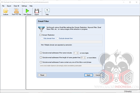 RS Outlook Email Extractor v5.0.0.3 Cracked